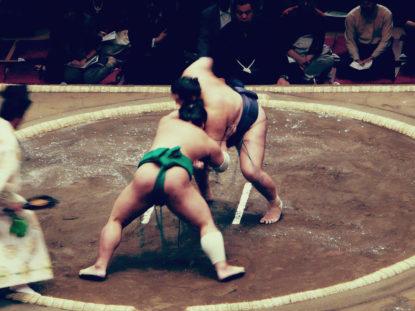 Japanische Sportarten - Sumo