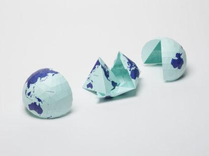 Authagraph Weltkarte, die Welt