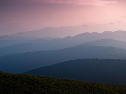 Bergwandern in Japan