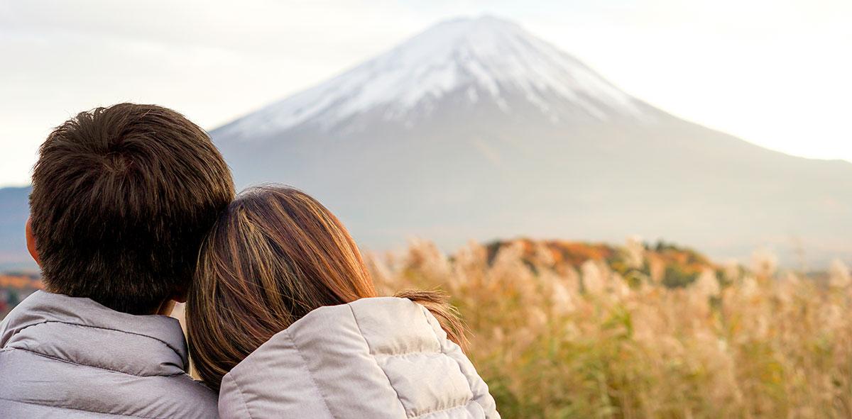 Valentinstag am Fuji