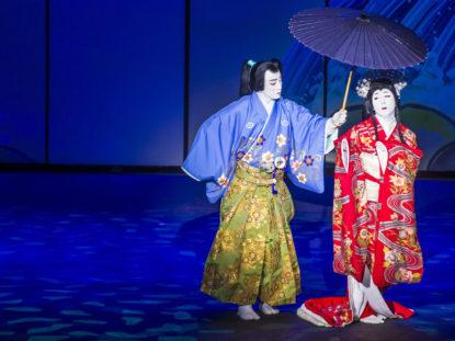 Japanisches Theater - Shimpa