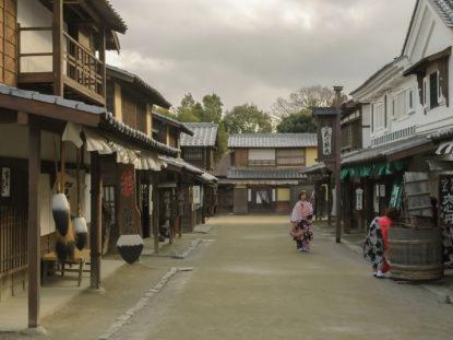 Edozeitlicher Straßenzug im TOEI Kyôto Studio Park